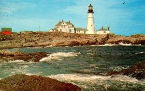 Maine Portland The Portland Head Lighthouse