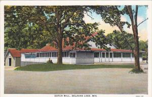 Wisconsin Delavan Lake Dutch Mill Curteich