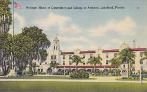 Florida Lakeland National Home Of Carpenters and Joiners Of America