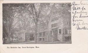 The Berkshire Inn Great Barrington Massachusetts 1907