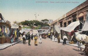 ALEXANDRIE , EGYPT , 00-10s ; Bazar arabe pres du Fort Napoleon