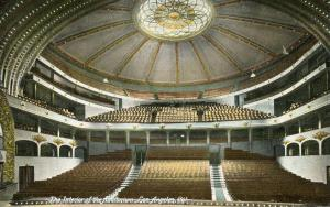 CA - Los Angeles. Interior of the Auditorium