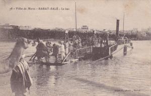 MOROCCO , 00-10s ; Villes du Maroc - RABAT-SALE-Le bac