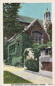 Illinois Chicago The Thorndike Hilton Memorial Chapel