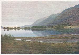 Scotland Invernesshire Loch Lochy Evening
