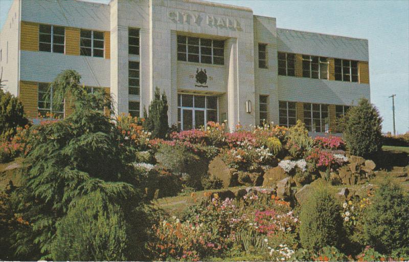 NANAIMO, British Columbia, Canada, 1940-1960´s; City Hall