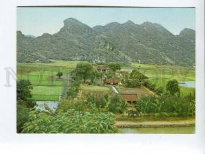 271721 VIETNAM Temple dedicated king Dinh Tien hoang at Ninh Binh old photo