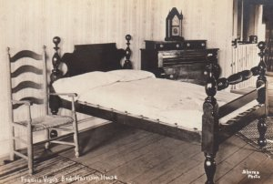 RP; VINCENNES, Indiana, 1910-1920's, Francis Vigo's Bed, Harrison House