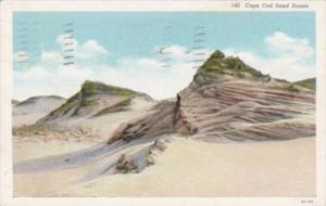 Massachusetts Cape Cod Sand Dunes 1939