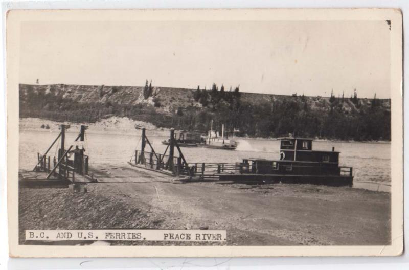 RPPC, BC & US Ferries, Peace River