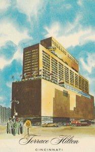 CINCINNATI, Ohio, 1940-60s; Terrace Hotel, Sixth and Vine Streets