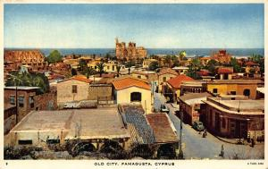 Cyprus Old City Famagusta Church General view Postcard