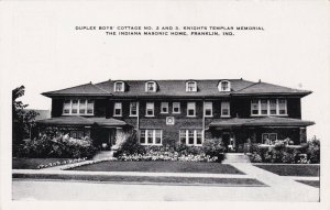 Indiana Franklin Boys' Cottage # 2 & 3  Indiana Masonic Home sk3543