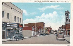 Arkansas Main Street Van Buren Home Of Bob Burns Curteich