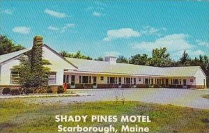 Maine West Scarborogh Shady Pines Motel