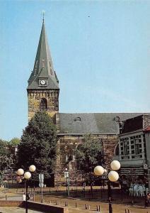 Netherlands Enschede Holland, Grote Kerk Markt, Opgetrokken uit Bentheimer