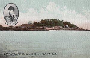 EAGLE ISLAND , Maine , 1900-10s ; Robert E Peary Summer Home