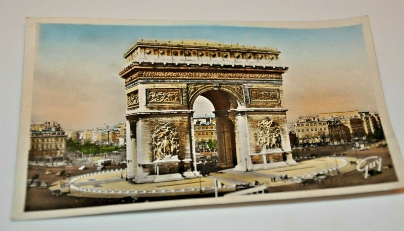 Paris France Arch of Triumph Oct 9, 1945 Ed. d'ART GUY 38 Neoclassim