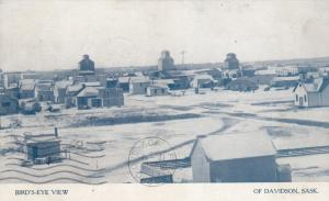 DAVIDSON , Sask., Canada, 00-10s ; Bird's Eye View