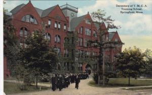 SPRINGFIELD, Massachusetts, Dormitory of Y. M. C. A. Training School, 00-10s