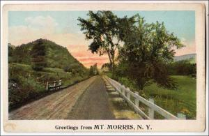 Greetings from Mt Morris NY