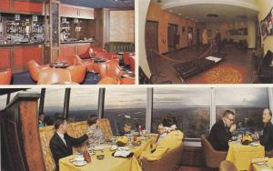 3-Views, Calgary's Husky Tower, Tallest of it's type in North America, Albert...