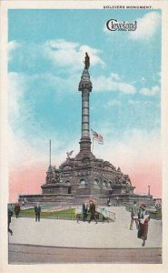 Ohio Cleveland Soldiers Monument