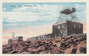 PIKES PEAK, Colorado, 1900-1910's; Summit House