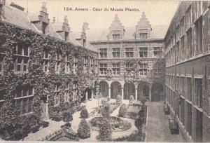 Belgium, Antwerpen, Antwerp, Anvers, Cour du Musee Plantin, early 1900s