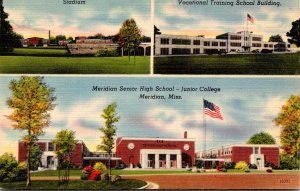 Mississippi Meridian Senior High School Junuior College Stadium & Vocational ...