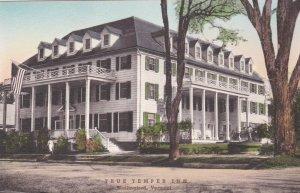 Vermont Wallingford True Temper Inn Handcolored Albertype sk748