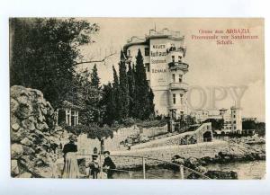 192117 CROATIA Opatija Gruss aus ABBAZIA Sanatorium Schalk Old