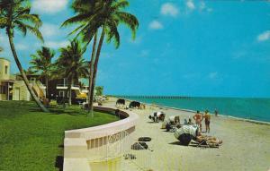 Beach Shore, Fishing Pier, FORT LAUDERDALE, Florida, 40-60's