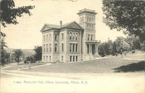 Memorial Hall at Alfred University NY, New York - UDB