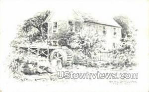 Old Mill & Brewster Cape Cod MA 1971