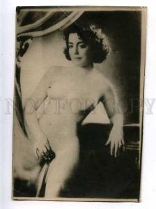 184519 NUDE Belle Woman Vintage Photo Card