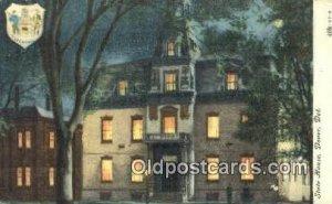 Dover, Delaware, DE State Capital USA 1907 postal used 1907