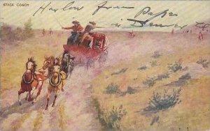John Innes Primitive Transporation Series  Stage Coach  1907