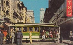 California San Francisco Cable Car Turntable