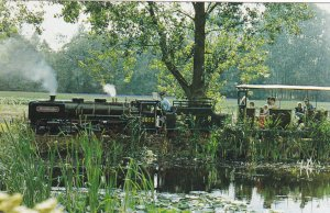 BRESSINGHAM, England, UK, 1940-60s; Krupp Miniature Train