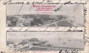 2-Views, Hotel Chamberlin, Government Wharf, Old Point Comfort, FORTRESS MONR...
