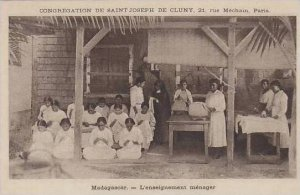 Madagascar L'Enseignement Menager Congregation De Saint Joseph De Cluny ...