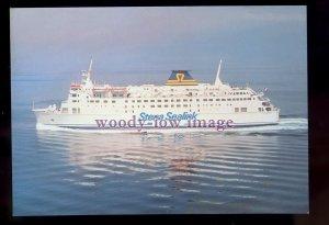 FE3500 - Stena Sealink Line Ferry - Stena Parisien , built 1984 - postcard