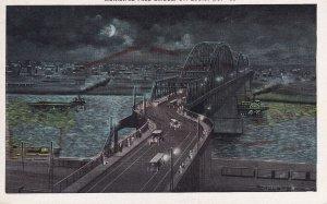 ST. LOUIS, Missouri, 1900-1910's; Municipal Free Bridge