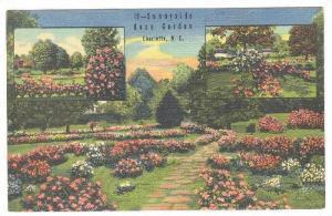 3-Views, Sunnyside Rose Garden, Charlotte, North Carolina, 1930-1940s