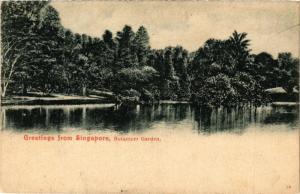 SINGAPORE PC Greetings from Singapore - Botanicer Garden (a1466)