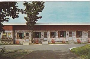 Exterior,  Cote's Hotel-Motel,  Riviere Du Loup,  Quebec,  Canada,  PU_1974