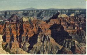 Grand Canyon, Arizona/AZ Postcard, North Rim/National Park