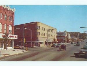 Unused Pre-1980 OLD CARS & SHOPS ON STREET Ephrata Pennsylvania PA n0574