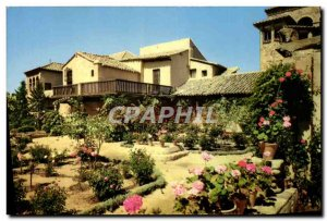 Postcard Modern Garden and Toledo house Greco